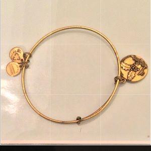 Alex and ani charm bracelet holly